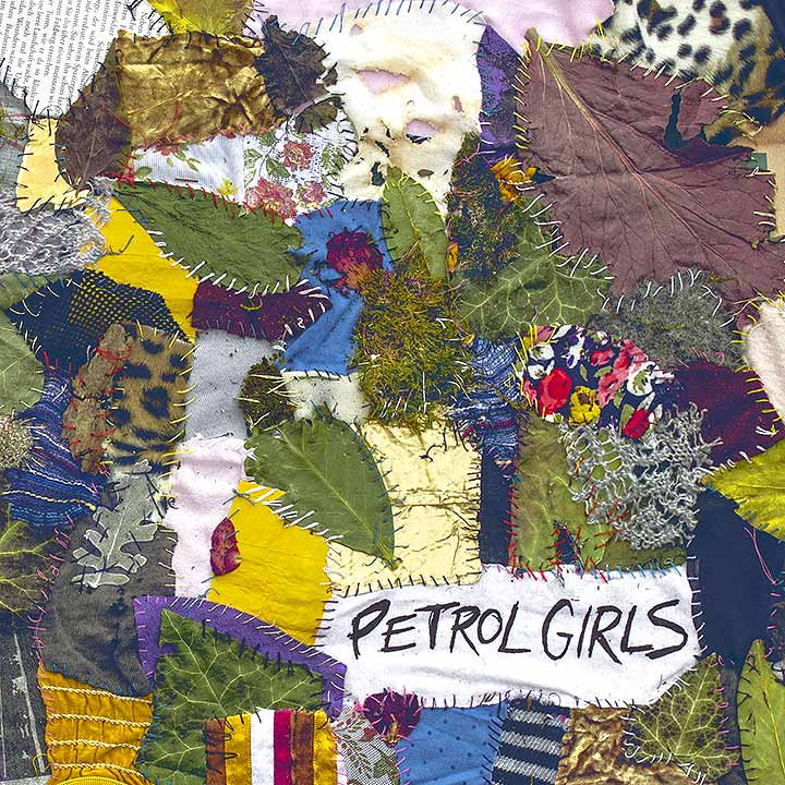 Cover Patchwork Stoff, Petrol Girls - Cut & Stitch